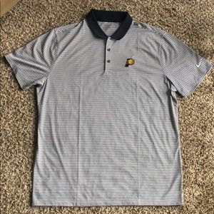 Pacers Nike Golf Pullover